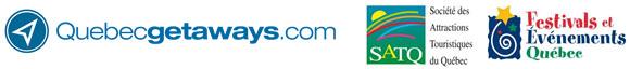 Logos Quebecvacances.com, SATQ, FEQ