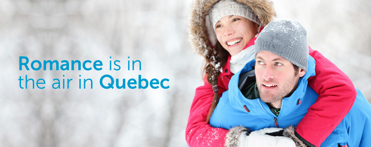 Romance is in the air in Québec