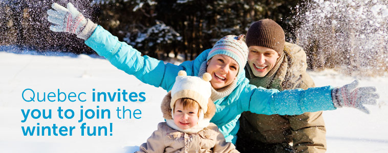 Quebec invites you to join the winter fun!